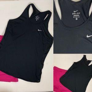 Nike Top Running Sports Tank Top Dri-Fit